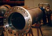 Flange of pressure vessels